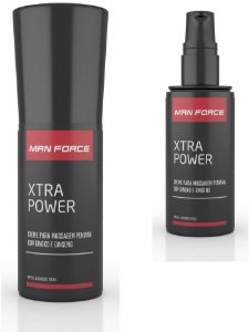 Creme para Massagem Peniana - Man Force Xtra Power