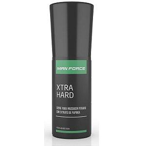 Creme para Massagem Peniana - Man Force Xtra Hard