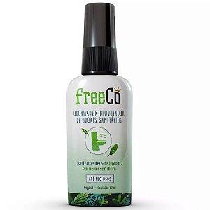 FreeCO - Odorizador Bloqueador de Odores Sanitários - 60ml