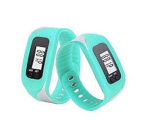 Relógio Masculino Digital - Calcula passos e calorias perdidas