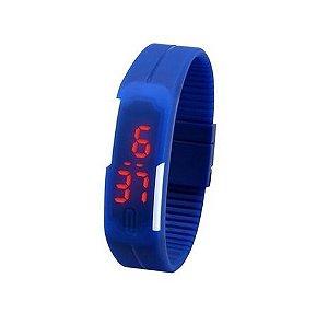 Relógio Digital a Prova Dágua Azul