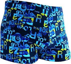 Shorts Boxer para Banho Masculino