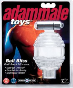 Capa Estimuladora CyberSkin para Escroto com Vibro Adam Male Toys