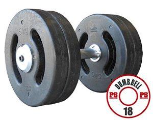 Dumbell Injetado  18 KG - PAR