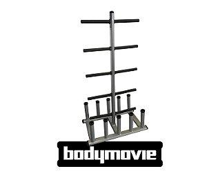 Suporte Para Kit de Body Pump - Preto