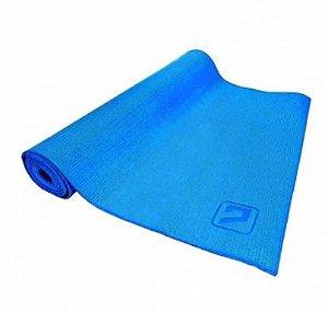 Tapete E.v.a Para Yoga / Pilates Azul
