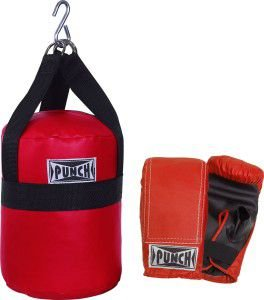 KIT SACO BOXE INFANTIL PUNCH