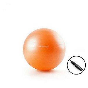 Bola Suiça de Pilates 55cm com bomba para inflar