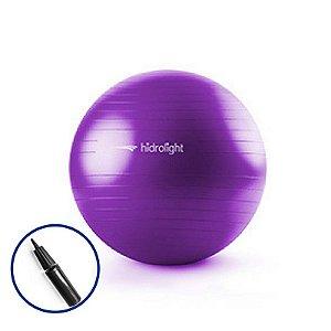 Bola Suiça de Pilates 65cm com bomba para inflar