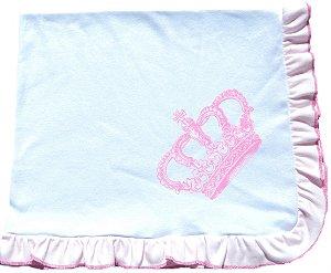Manta em suedine, 100% algodão, muito conforto para seu bebê,  Eligalbaby