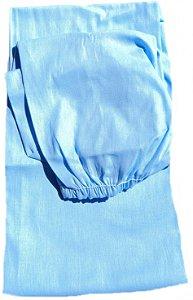 Lençol em tecido com elástico para berço americano 100% algodão