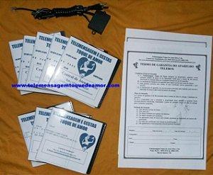 Kit de telemensagem Nº 17 telebox para linha fixa com cds mixer