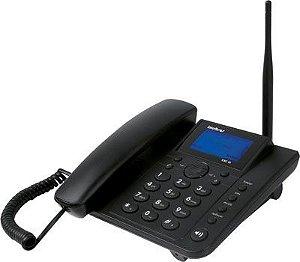 Telefone celular de mesa adaptado para telemensagem