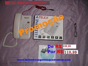 Kit de telemensagem Nº 22 para pc com 16.000 mil telemensagens