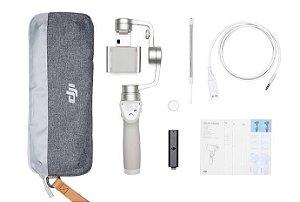Dji Osmo Mobile Silver Kit Combo ( Bateria Extra e Base)
