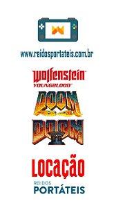 [DISPONÍVEL] Jogos de FPS Wolfeinstein YoungBlood e Doom Classicos Nintendo Switch