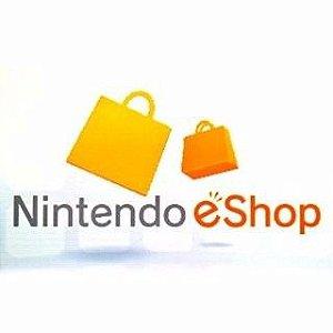 Crédito Nintendo Eshop Brasileira R$40,00