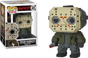 Funko Pop! Jason Voorhees 8 BITS - A hora do Pesadelo