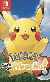 Jogo Pokémon Lets Go Pikachu