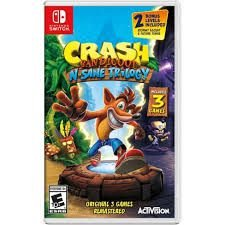 Jogo CRASH BANDICOOT N. SANE TRILOGY SWITCH