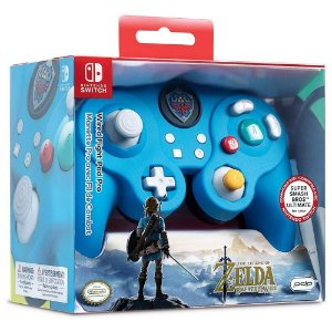 Controle GC Nintendo Switch The Legend Of Zelda Com Fio