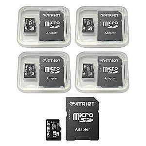 Cartão de Memória Micro SD 128GB - Patriot