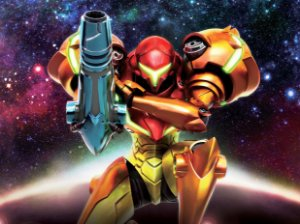 Quadro Decorativo Metroid