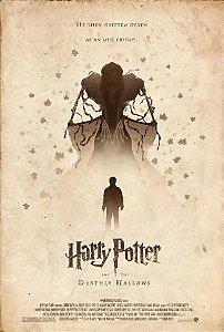 Quadro Decorativo Harry Potter Relíquia da Morte