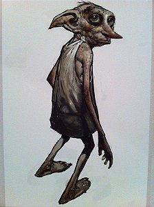 Quadro Decorativo Dobby - Harry Potter