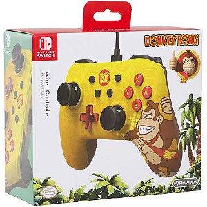 Controle com Fio Donkey Kong Para Switch