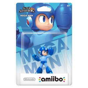 Amiibo Mega Man - Super Smash Bros Nintendo