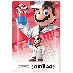 Amiibo Dr. Mario - Super Smash Bros Nintendo