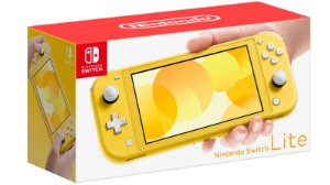 Console Nintendo Switch Lite - Amarelo