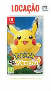[ALUGADO] Pokémon Lets Go Pikachu Nintendo Switch