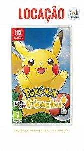 [Disponível] Pokémon Lets Go Pikachu Nintendo Switch