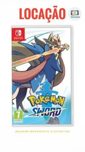 [ALUGADO] Jogo Pokémon Sword Nintendo Switch