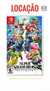[DISPONIVEL] Jogo Super Smash Bros Ultimate Nintendo Switch