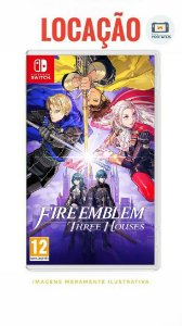 [ALUGADO] Fire Emblem - Three Houses Nintendo Switch