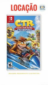 [DISPONÍVEL] Crash Team Racing Nitro-Fueled Nintendo Switch