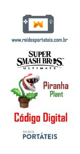 Lutador Piranha Plant DLC Super Smash Bros Ultimate
