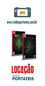 [DISPONÍVEL] Jogo Outlast 1 e 2 Nintendo Switch