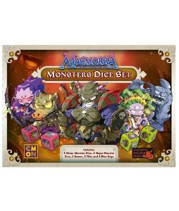 Pré Venda - Masmorra: Monster Dice Set
