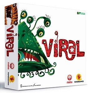 Jogo De Tabuleiro Viral - Papergames