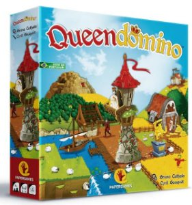 Jogo De Tabuleiro Queendomino - Papergames