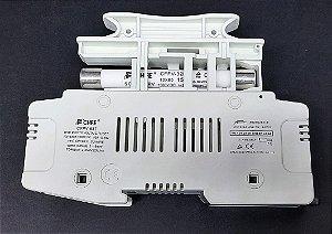 Porta Fusível Solar CFPV-63T 10x85 1500VCC c/ fusível 15A