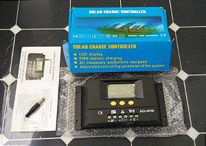 Controlador De Carga Solar 30a Sensor De Temperatura E Timer