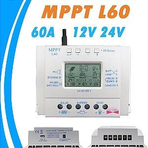Controlador de carga solar 60A MPPT L60 12/24v SUNYOBA