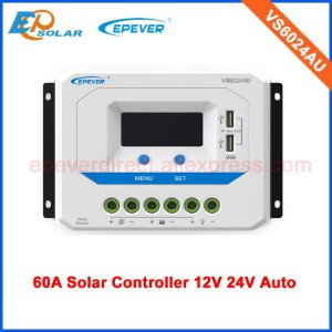Controlador Solar 60A 12/24 V EPEVER VS6024AU