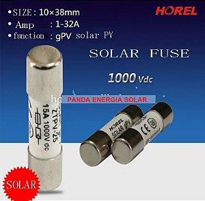 Fusível Solar DC1000v 10 X 38