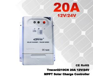 Controlador De Carga Solar 20a MPPT Tracer2210cn 12/24v EPSOLAR